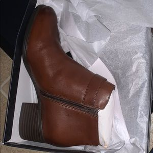 Naturalizer Shoes - Leather Dora booties